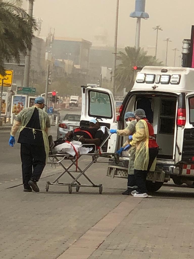 بالتعاون مدينة الملك الطبية الهلال CF4B580E-1EB4-45B0-8
